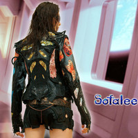 Jacket genuine python snakeskin leather printed leather for women. Exclusive Handmade exotic python leather jackets. Size S~M.