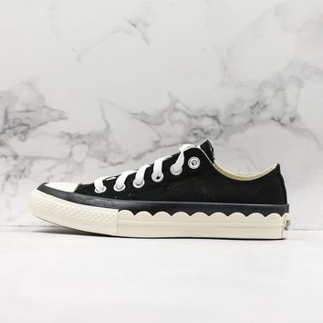 Converse All Star Chuck Taylor Low Top Black Canvas Women Sneaker - Best Deal Online