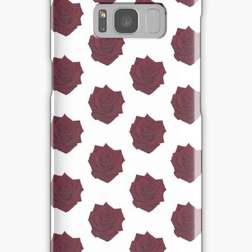 'Red Rose' Samsung Galaxy Case/Skin by -LAM-