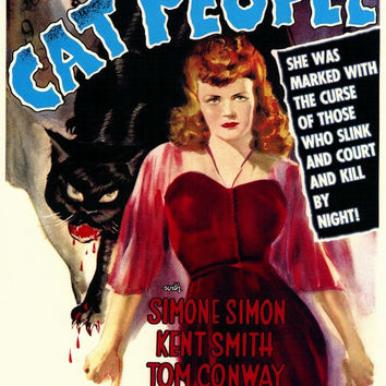 Cat People 27x40 Movie Poster (1942)