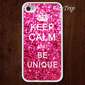 iPhone 4 Case iphone 4s case  Keep Calm and be unique by ArtTrip