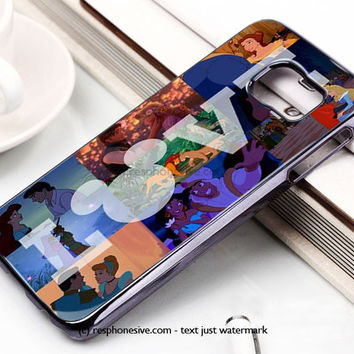 Disney Love Samsung Galaxy S6 and S6 Edge Case