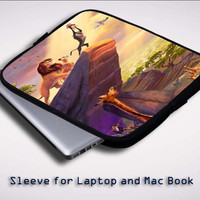 Disney Paintings Art Lion King Z0073 Sleeve for Laptop, Macbook Pro, Macbook Air (Twin Sides)