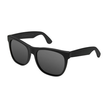 Classic Plastic Sunglasses, Black - Super by Retrosuperfuture