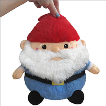 Mini Squishable Gnome: An Adorable Fuzzy Plush to Snurfle and Squeeze!
