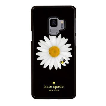 KATE SPADE BEE AND FLOWER Samsung Galaxy S3 S4 S5 S6 S7 S8 S9 Edge Plus Note 3 4 5 8 Case
