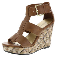 Tatum Buckle Wedge