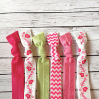 Sweetheart Valentine's Hair Tie or Headband Collection