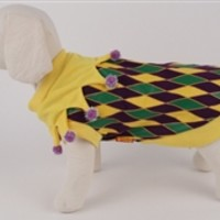 Mardi Gras T-Shirt Costume- Costumes Posh Puppy Boutique