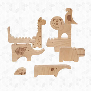 Wood Puzzle Play Set