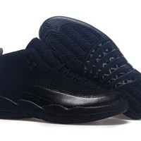 Cheap Nike Air Jordan Future 12 Deep Blue Black Shoes