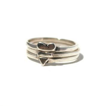 The Heart Stacker Ring