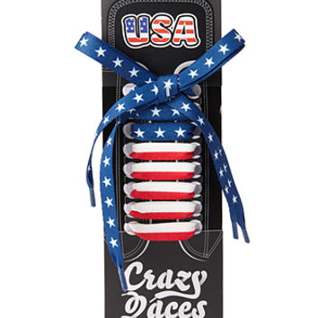 American Flag Shoe Laces