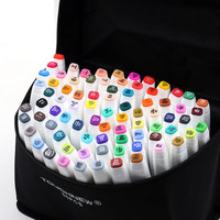 30 40 60 80 Colors Drawing Marker Pen Design Artist Dual Head Sketch Copic Markers Set For Manga Marker School Supplies stabilo