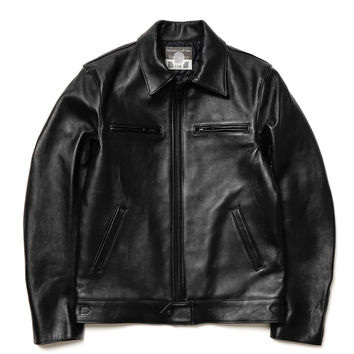 Quilted Sheep Leather Biker Jacket