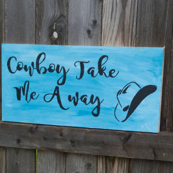 Western sign - western decor - cowboy sign - country sign - country decor - cowboy decor - cabin decor