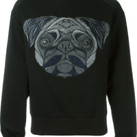 Black Pug Sweatshirt