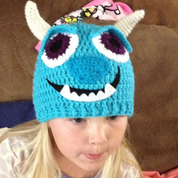 Sulley - Monsters Inc./ University Beanie/ Hat - Any Size