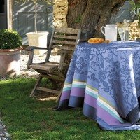 Provence Table Linens in Lavender Blue