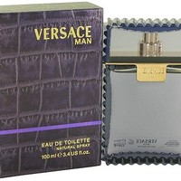 Versace Man Cologne Men Perfume 3.4 oz 100 ml Eau De Toilette Spray New In Box