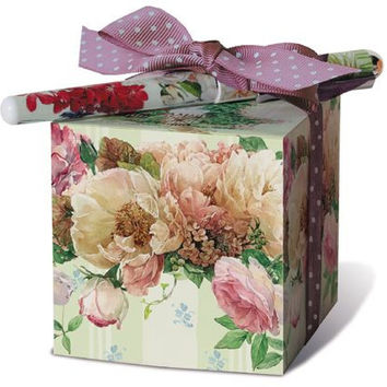Cottage in Bloom Paper Note Block