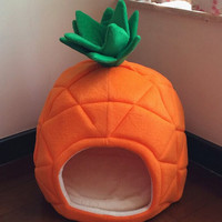 Pineapple Pet Bed House