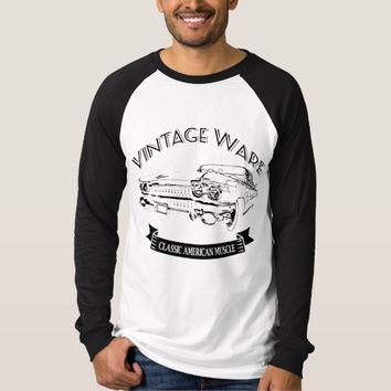 Vintage Wear - Classic American Muscle T-Shirt