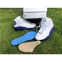 air jordan 13 retro hyper royal basketball shoe