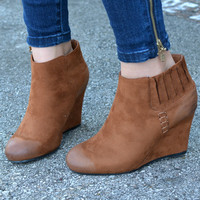 More Than Love Booties - Chestnut