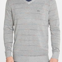 Men's Travis Mathew 'Jaws' Stripe Sweater