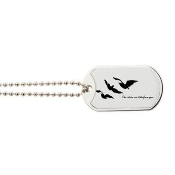 Divergent - One Choice Ravens Tattoo Dog Tags