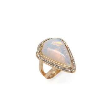 Faux Stone Ring | Forever 21 - 1000236206