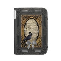 Funny vintage Gothic Steampunk crow from Zazzle.com