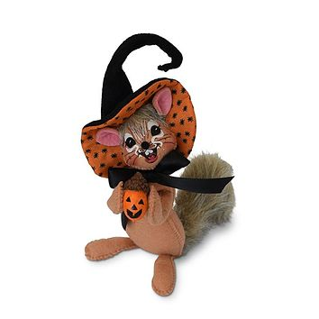 Annalee Dolls 6in 2018 Halloween Spider Witch Chipmunk Plush New with Tags