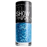 Maybelline New York Color Show Nail Lacquer, Blue Marks The Spot, .23 Fluid Ounce
