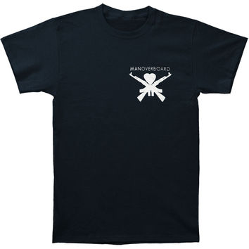 Man Overboard Men's  Rare T-shirt Black Rockabilia