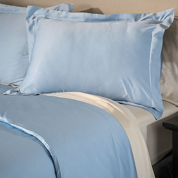 Rayon from Bamboo Solid 3-piece Duvet Cover Set   Overstock.com Shopping - The Best Deals on Duvet Covers