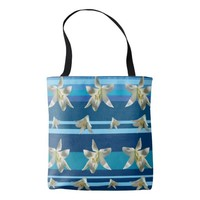 Summer Sea Mod All-Over-Print Tote Bag