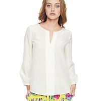 Silk Blouse With Hardware by Juicy Couture,
