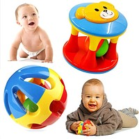 Baby Toy Fun Little Loud Jingle Ball Ring jingle Develop Baby Training Grasping ability Toy For Baby