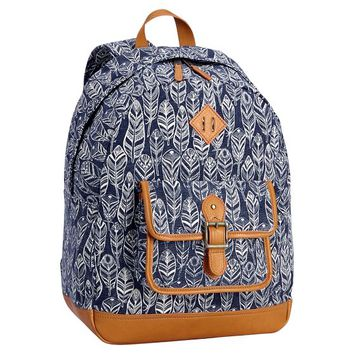 Northfield Navy Feather Backpack