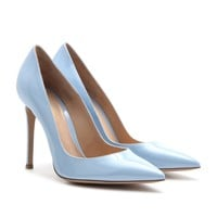mytheresa.com - Patent-leather pumps - Luxury Fashion for Women / Designer clothing, shoes, bags