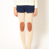 Hansel From Basel Donegal Fleck Kneepad Tights at asos.com