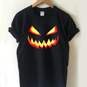Pumpkin Halloween T-shirt Men, Women Youth and Toddler