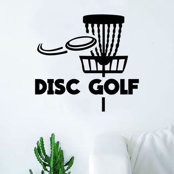 Disc Golf Basket V3 Frisbee Decal Sticker Wall Vinyl Art Decor Home Sports Teen Outdoor DG Innova