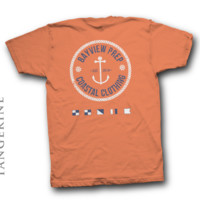 Anchor Shirt in Tangerine