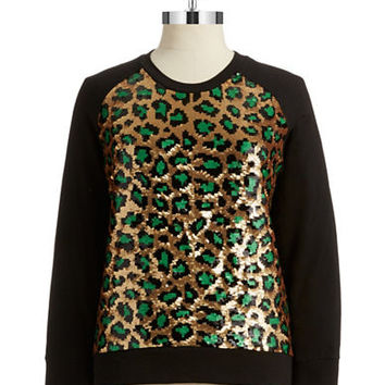 Michael Michael Kors Plus Plus Sequin Sweatshirt