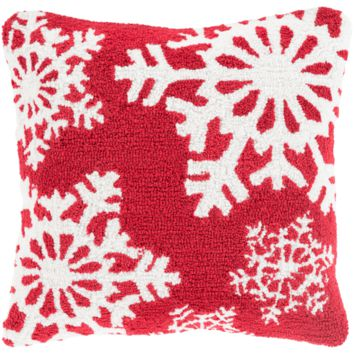 Holiday Winters Pillow ~ Red