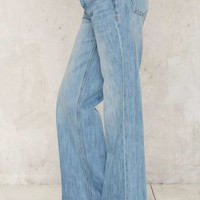 Zee Gee Why Sweeper Flared Jeans