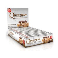 Quest Nutrition Chocolate Chip Cookie Dough Quest Bars, 12 Bars